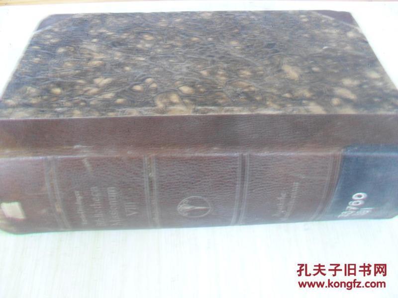 外文原版   BIBLIOTHECA MISSIONUM