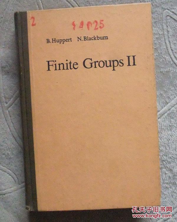 Finite Groups II (有限群 第2卷 ) 【英文版 精裝】