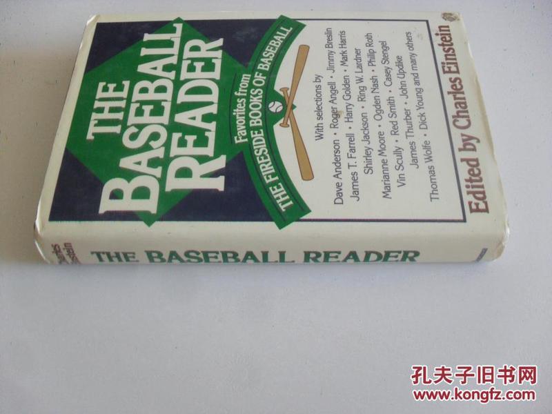 英文原版  Baseball Reader