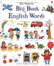 英文原版 the Usborne Big Book of English Words大开本纸板书 儿童英语单词书彩色