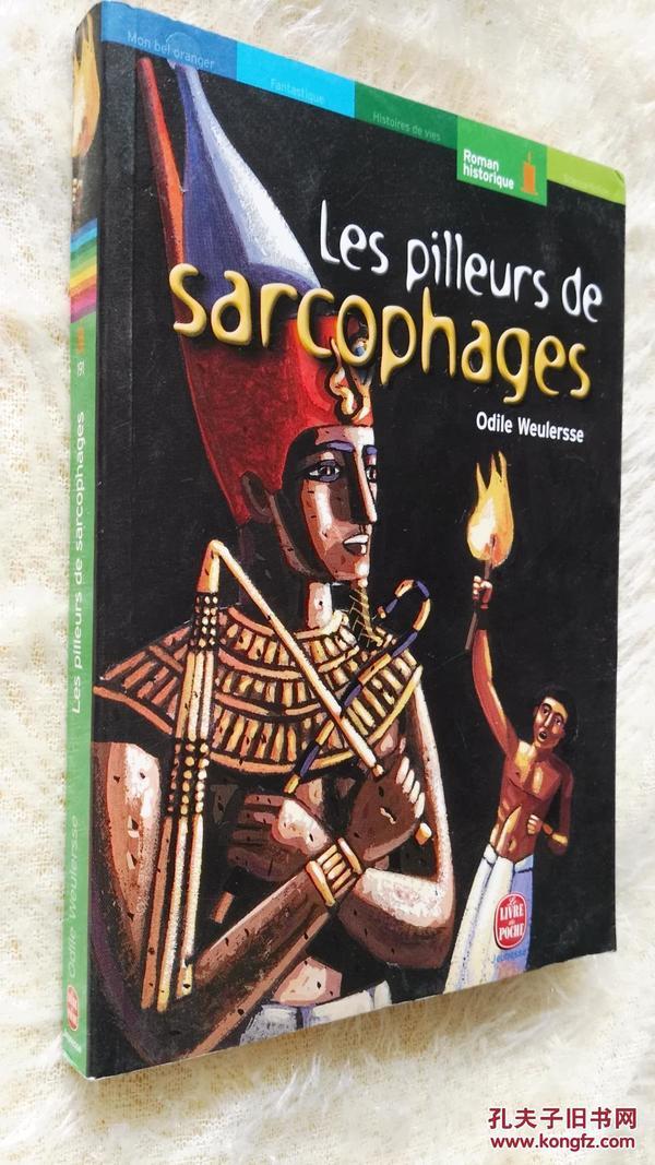 法文原版  Les Pilleurs de sarcophages by Odile Weulersse