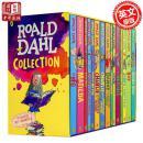【正版现货 】罗尔德达尔英文原版全集15册套装Roald Dahl女巫好心眼儿圆梦巨人了不起的狐狸爸爸查理和巧克力工厂魔法手指畅销儿童文学书籍BFG