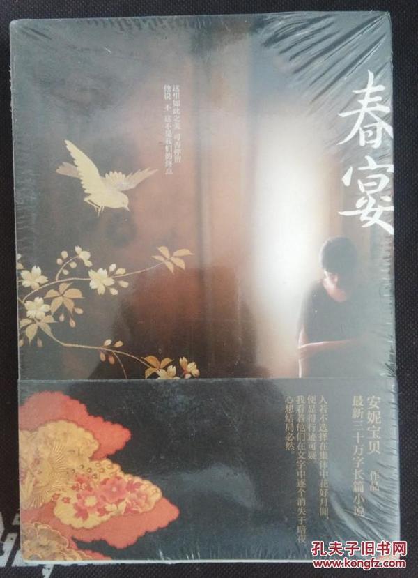 全新正版 安妮宝贝作品——春宴  9787540450274