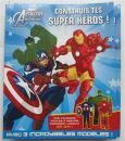 平装 法语 手工活动书 construis tes super heros