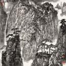 微喷巨幅国画  李小可67x67厘米