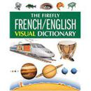 The Firefly French/English Visual Dictionary萤火虫版法英图示辞典,品佳