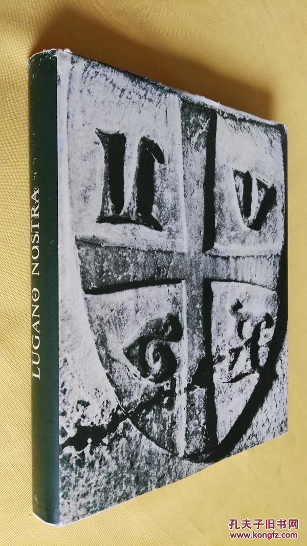 Lugano nostra. Testo di Piero Bianconi, disegni di Nag Arnoldi, fotografie e impaginazione意大利语原版大精装