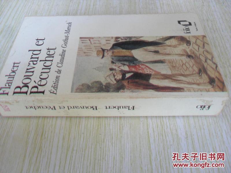 法文原版 福楼拜《布瓦尔和佩库歇》 Bouvard Et Pecuchet.Gustave Flaubert