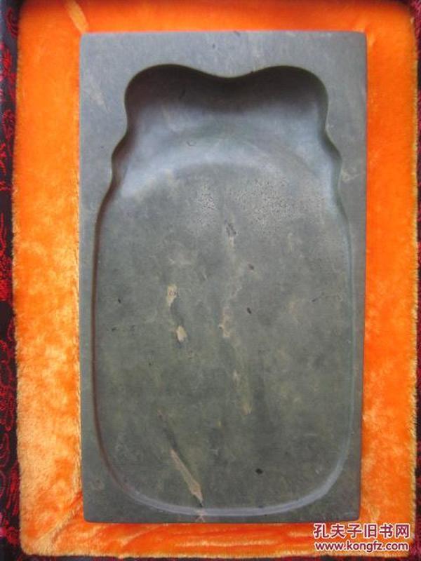 端硯-綠端蟬池硯臺《一鳴驚人》77