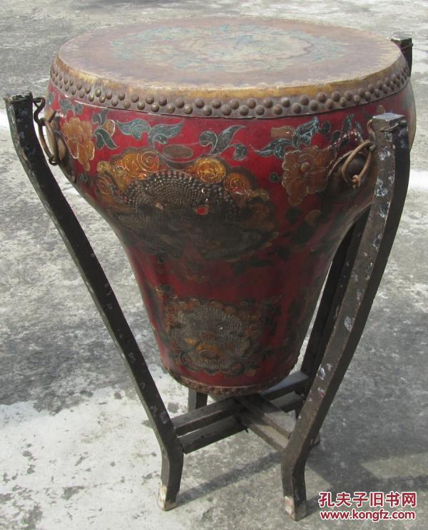 清代花盆鼓