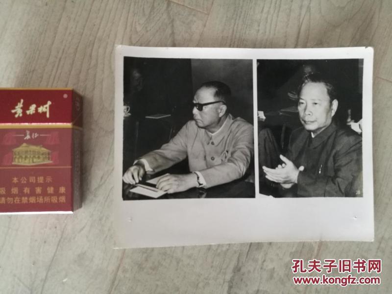 老照片  聂荣臻.彭冲