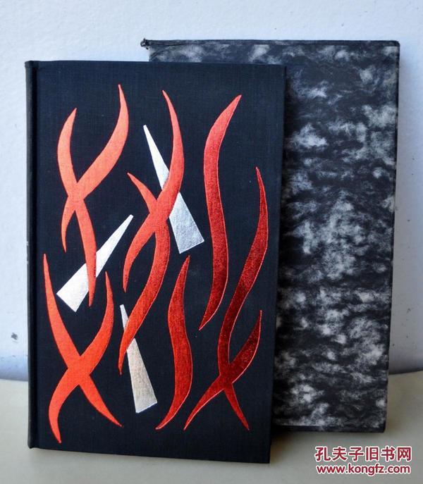 罕见,稀少1968年伦敦出版《女巫之锤》24精美木刻版画,精装24开