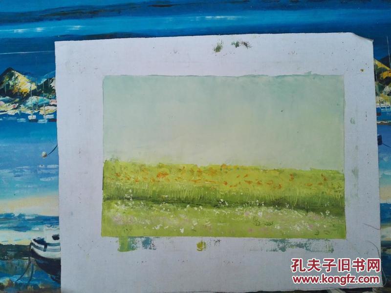 盛世收藏 手绘油画水彩水粉素描设计速写 美院原创232小幅风景写生