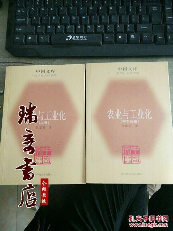 农业与工业化(全二册)——中国文库·哲学社会科学类