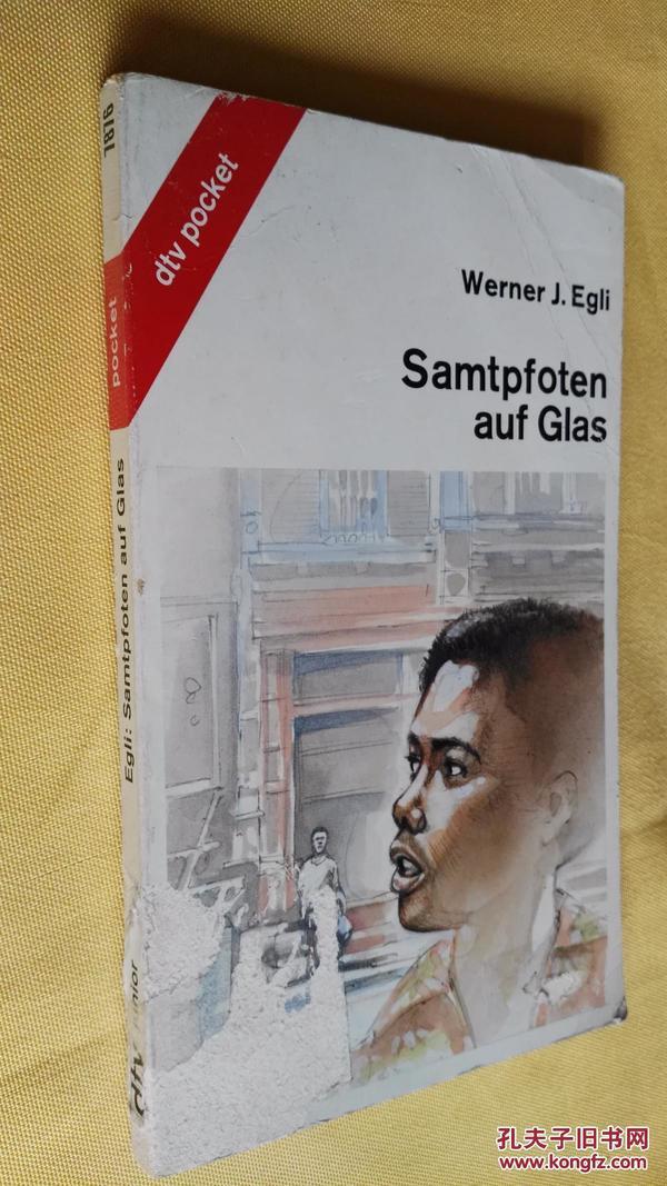 德文原版    Samtpfoten auf Glas.Werner J. Egli