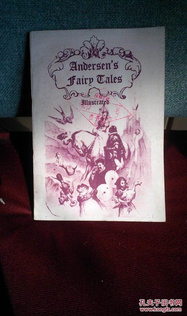 Andersen's Fairy Tales  (安徒生童话,美国版,影印本)