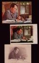 我们伟大的领袖毛主席 写字图片 3种 雕刻版一张