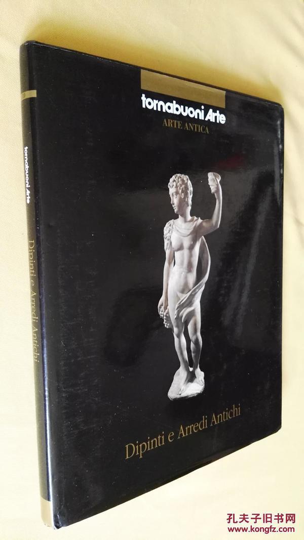 意大利语/英语 古代绘画和家具 精装 大画册 dipinti e arredi antichi