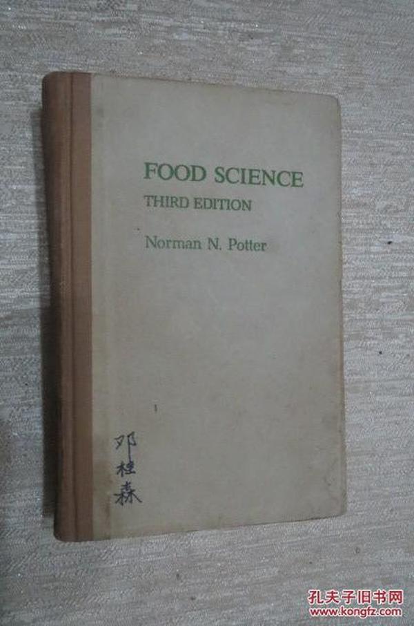 food science third edition.英文版;食品科學  第三版(觀)