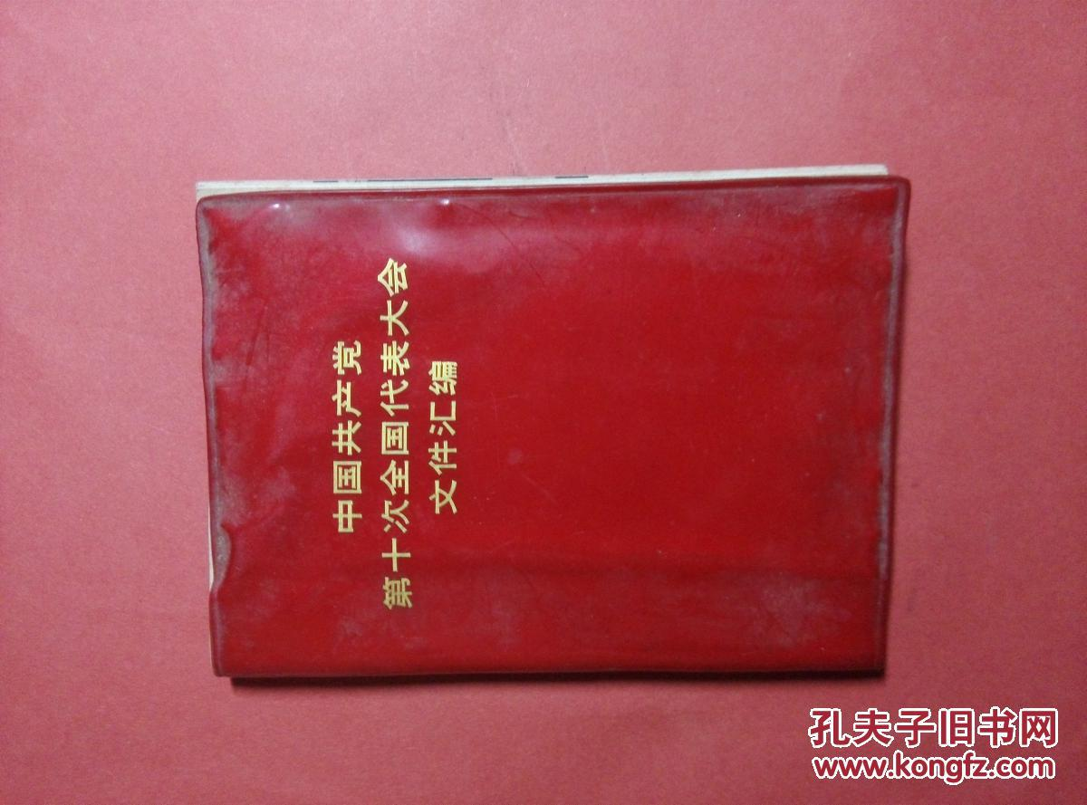 中国共产党第10次全国代表大会文件汇编
