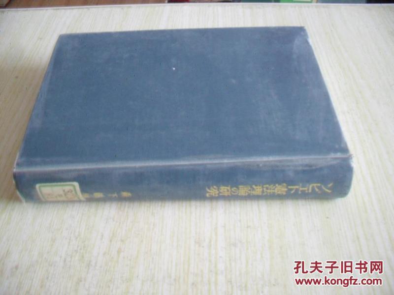 日文原版    宪法理论の研究