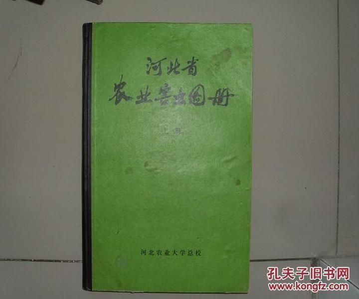 精装本 河北省农业害虫图册 上册