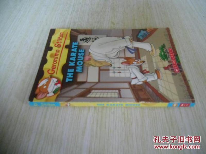 Geronimo Stilton #40: The Karate Mouse  老鼠记者40:空手道老鼠