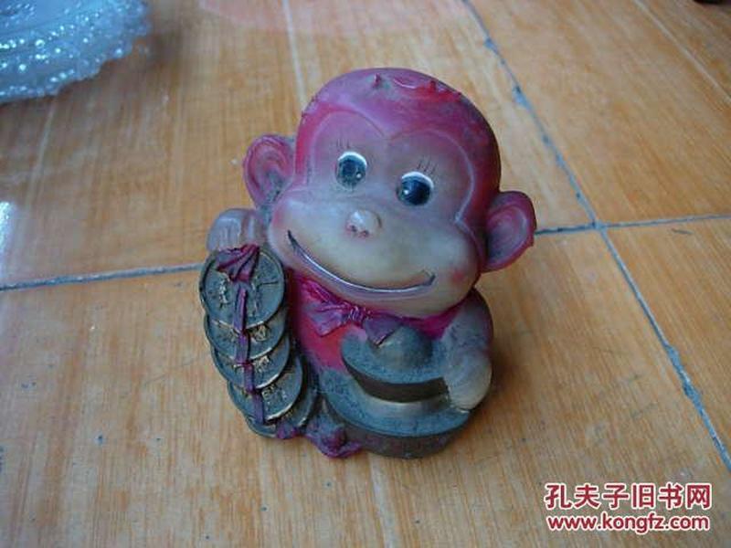 夏新牌手机小猴存钱罐.
