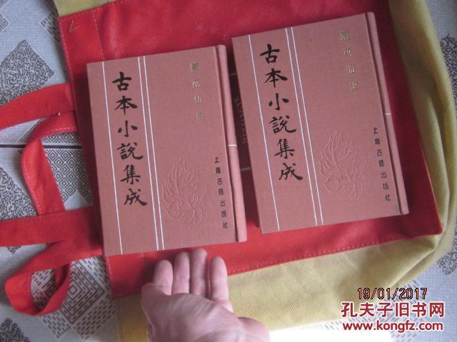 铁花仙史(上下册全)古本小说集成第 精装