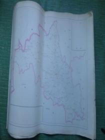 地图(吉林省地图;共九张,每张五元)