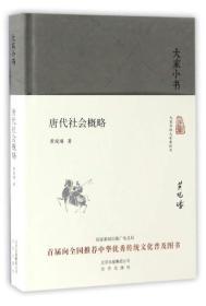 唐代社会概略/大家小书