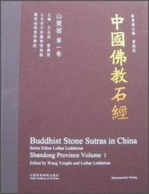 中国佛教石经:山东省(第一卷)