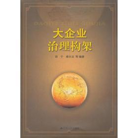 大企业治理构架 邵宁 江苏人民出版社 9787214077356