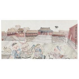 大来文化 髙柳笛 真迹字画 当代水墨大师 知名画家作品 收藏国画宣纸包邮00166