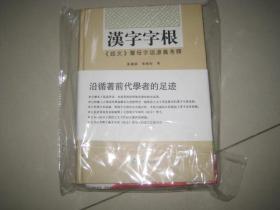 汉字字根:说文声母字语源义考释(绝对正版,库存未用过) BD  6520