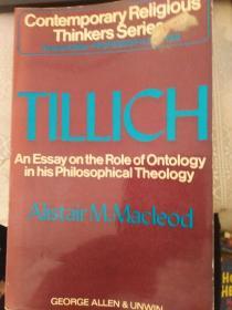 TILLICH Alistair M.Macleod(德语版)(看图片)