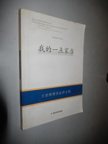 我的一点家当:王世洲刑事法译文集:translations in criminal law