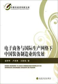 电子商务与国际生产网络下中国装备制造业的发展