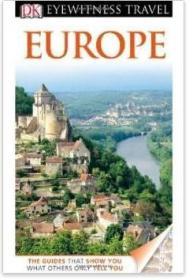 DK目击者旅游指南:欧洲 DK Eyewitness Travel Guide: Europe 英文原版