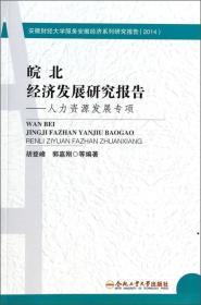 安徽财经大学服务安徽经济系列研究报告·皖北经济发展研究报告:人力资源发展专项(2014)