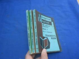 Essential English for Foreign Students 1.2.3(三册合售) 全英文 (不认识外文 书名等以图片为准)请书友自鉴