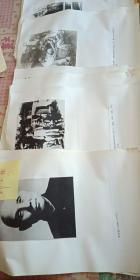 邓子恢  照片 (黑白照片)22张(和家人   陈毅等照片)