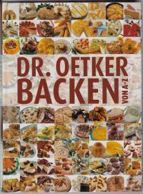 Dr. Oetker Backen von A - Z (16开)德文原版西式糕点烘焙