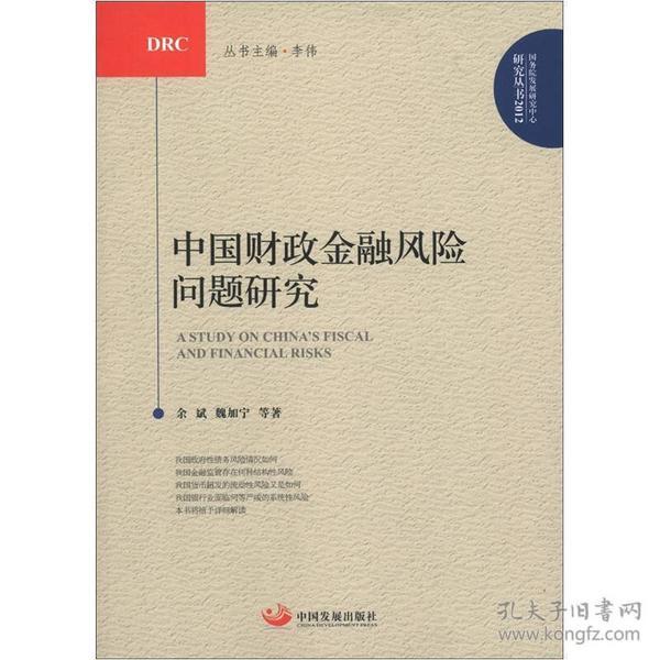 中国财政金融风险问题研究