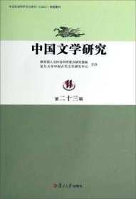 中国文学研究(第23辑)