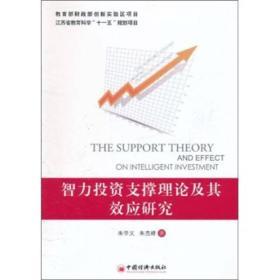 智力投资支撑理论及其效应研究