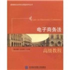 高等院校法学专业高级系列丛书:电子商务法  高级教程