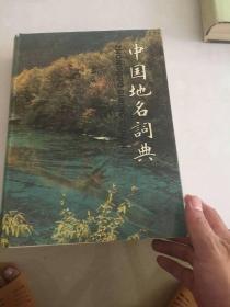 中国地名辞典   16开精装