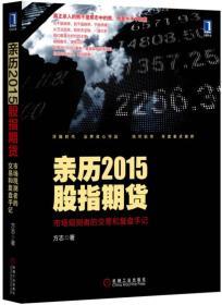 亲历2015股指期货:市场观测者的交易和复盘手记