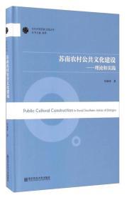 苏南农村公共文化建设-理论和实践 纪丽萍 南京师 9787565125126